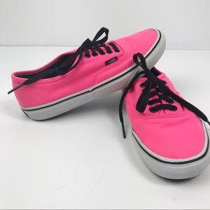 Vans Pink Sneakers 8